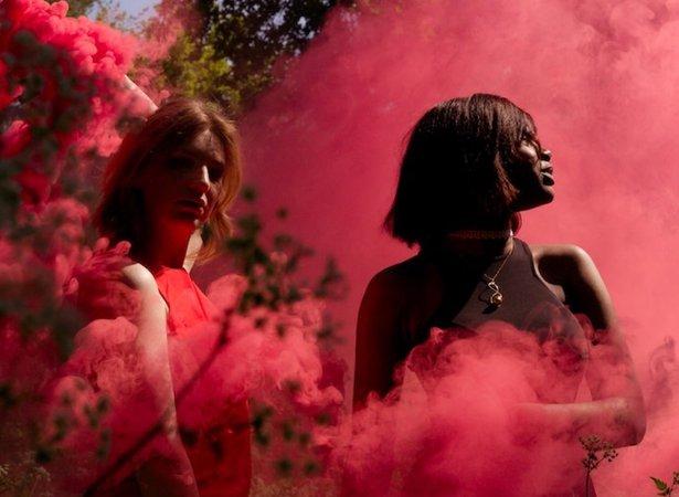 Aries red smoke