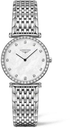 La Grande Classique de Diamond Bracelet Watch, 28mm