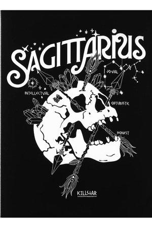 Sagittarius Greeting Card   KILLSTAR