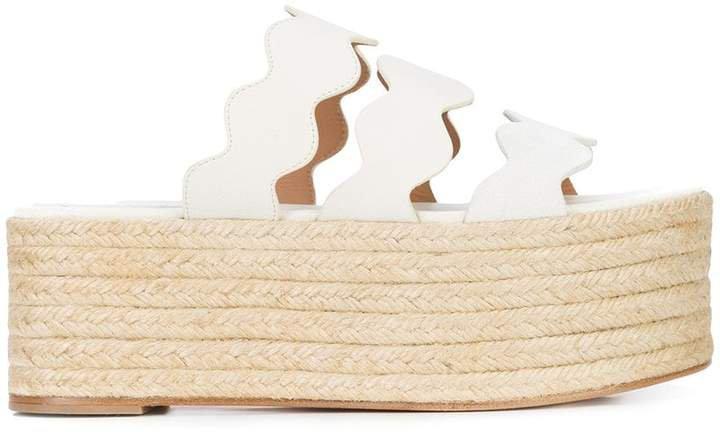 Lauren flatform sandals