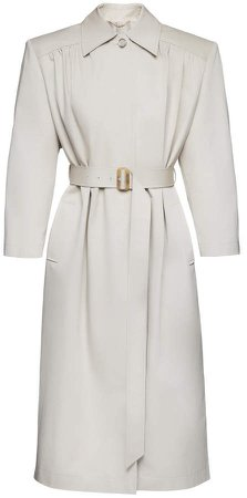 Magda Butrym Belted Cotton Trench Coat