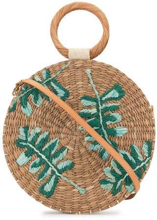 Jade round tote bag