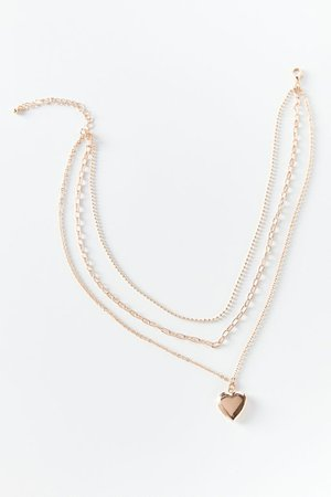 Lily Locket Layer Necklace | Urban Outfitters