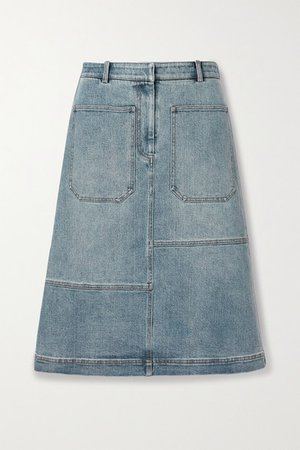 Denim Skirt - Light blue