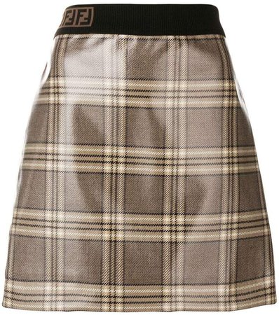 marble print skirt