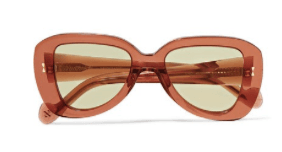 ZIMMERMANN Juno D-frame acetate sunglasses – Uberchique