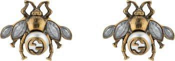 Gucci Bee Stud Earrings | Nordstrom