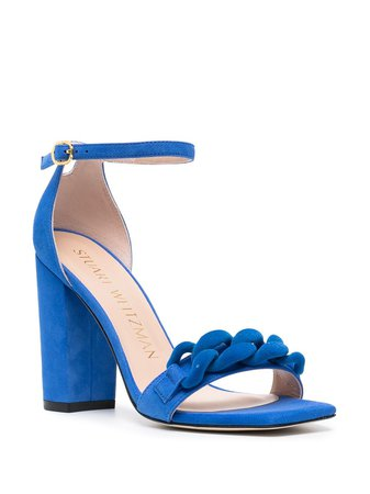 Stuart Weitzman Amelina braided strap sandals