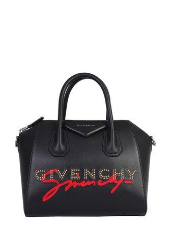 Givenchy Givenchy Small Antigona Bag - NERO - 11262216   italist