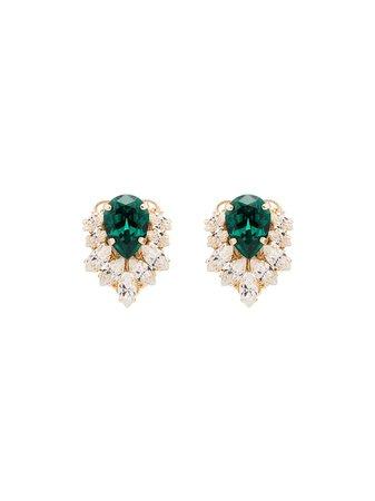 Anton Heunis crystal cluster earrings £90 - Shop Online - Fast Global Shipping, Price