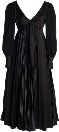 JW Anderson Pleated Maxi Dress