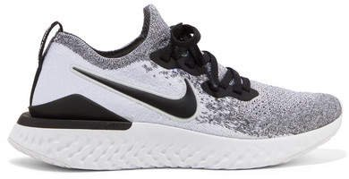 Epic React 2 Flyknit Sneakers - Light gray