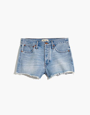 Relaxed Denim Shorts in Berriman Wash