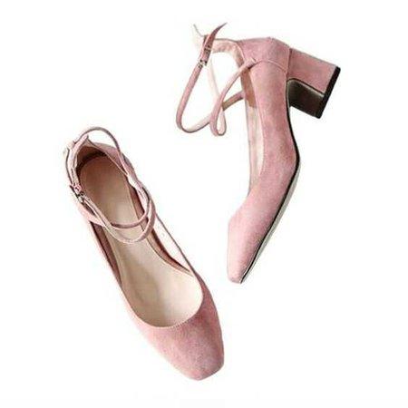pink  little heels
