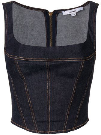Miaou Blusa Jeans 'Campbell' - Farfetch