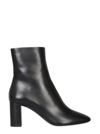 Saint Laurent 70 Pin Zip Lou Boots