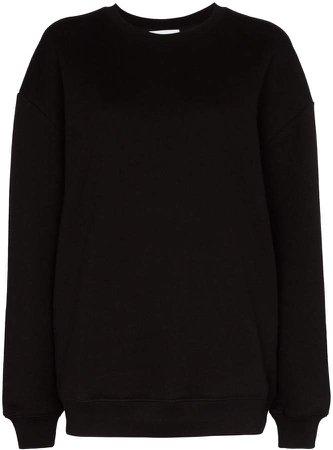 Oversized Long-Sleeve Sweatshirt