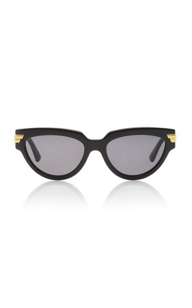 Cat-Eye Acetate Sunglasses By Bottega Veneta | Moda Operandi