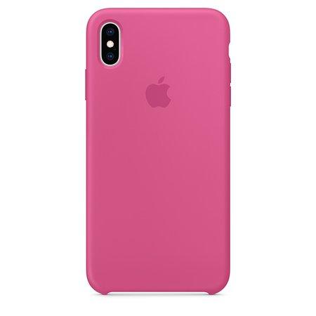 Coque en silicone pour iPhoneXSMax - Fruit du dragon - Apple (FR)