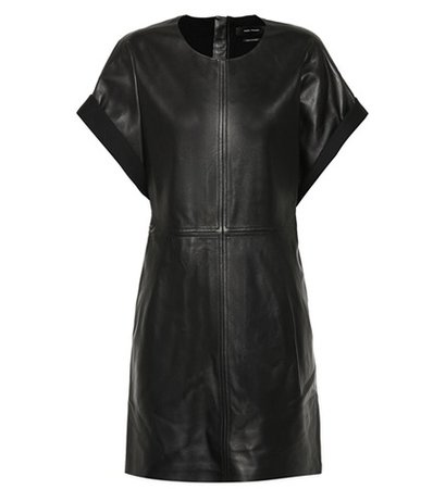Costa leather dress