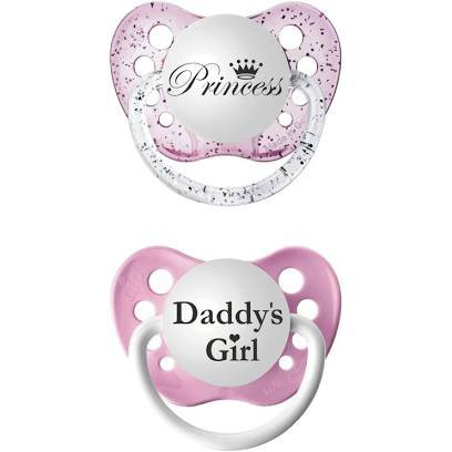 baby girl pacifier - Google Search