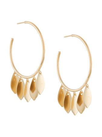 Isabel Marant Leaf Drop Earrings - Farfetch