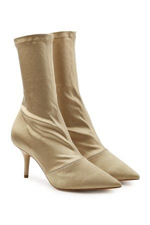 Satin Ankle Boots Gr. IT 36