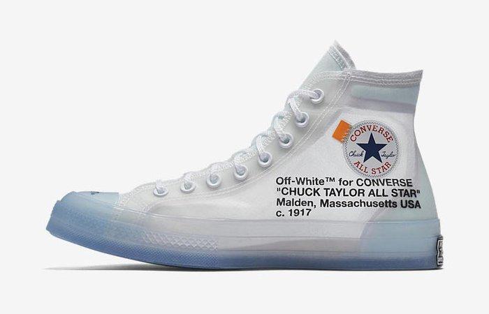 Off-White x Converse Chuck Taylor The Ten - Le Site de la Sneaker