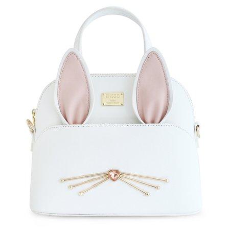 2017 White New Lolita Korean PU Cute Lady Animal Rabbit Ears Mini Diamonds Women - Women's Accessories, Handbags