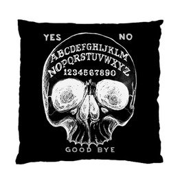Shop Cool Embroidered Skull Decorative Pillows at RebelsMarket