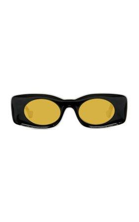 Paula's Ibiza Square-Frame Acetate Sunglasses By Loewe | Moda Operandi