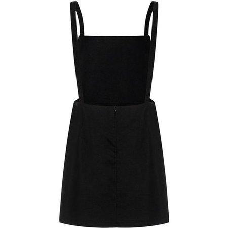 Clothink Women Yellow Corduroy Suspender Skirt Overall Mini Dress