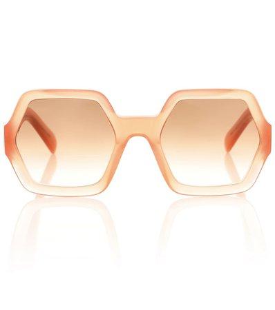 Hexagonal Sunglasses   Celine Eyewear - Mytheresa