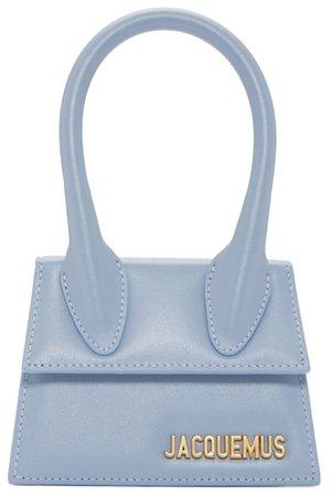JACQUEMUS Baby Blue Mini Handbag