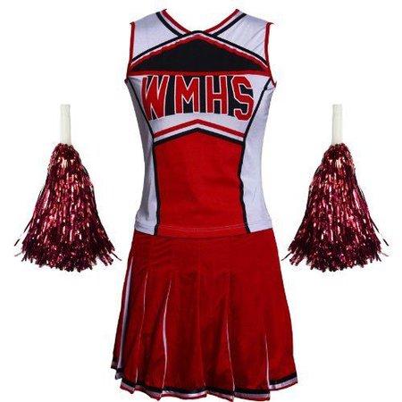 Glee Club Style Women's Cheerleader Costume Outfit 2 Piece XS   eBay