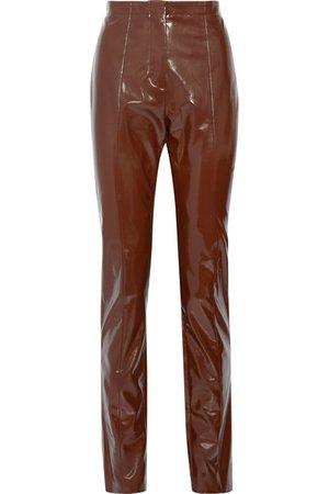 Acne Studios   Tugi vinyl slim-leg pants   NET-A-PORTER.COM