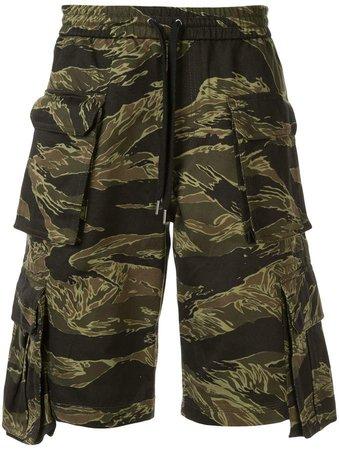 Ports V camouflage cargo shorts