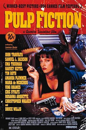 pulp fiction movie poster - Google Search