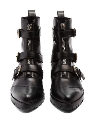 Alex multi strap leather ankle boots £675 from Tabitha Simmons