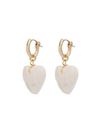 Brinker & Eliza Little Love Pearl Earrings - Farfetch