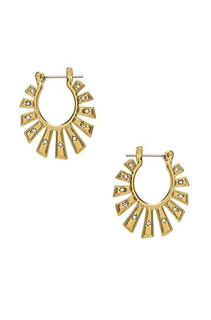 The Whimsy Flare Mini Hoops