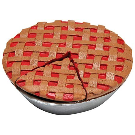 Amazon.com: The Queen's Treasures Bakery Collection Cherry Pie Perfect for Aspiring 18'' Doll Chef. Bake and Serve Up a Slice of Yummy Pie! Fits American Girl Doll Furniture and Play Kitchen Food Accessories.: Toys & Games