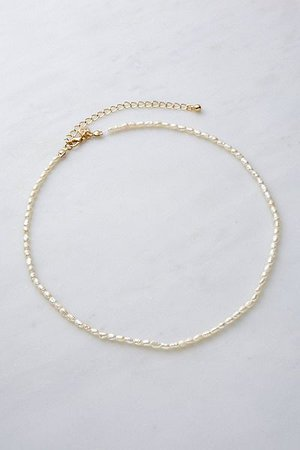 Real Freshwater Pearl Necklace | Urban Outfitters UK