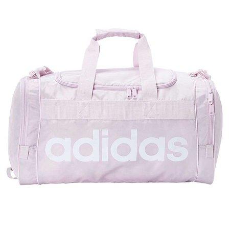 lilac adidas workout bag