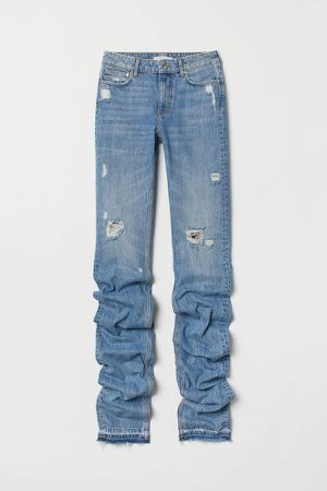 Long-leg Jeans - Blue