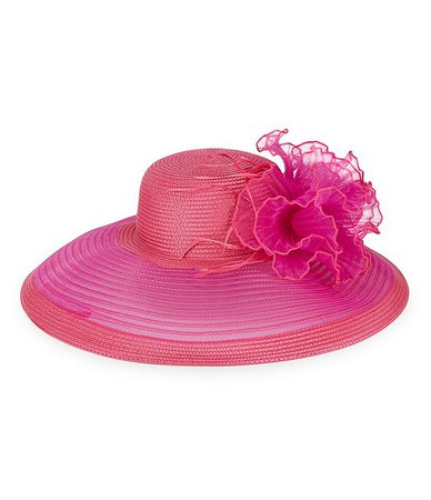August Hats Sheer Wide Brim Dress Hat | Dillard's