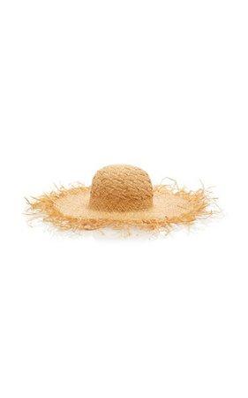 Frayed Straw Sun Hat By Etro | Moda Operandi