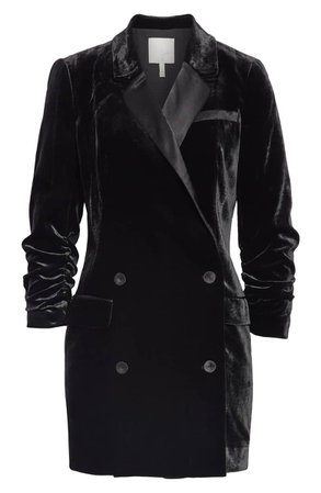 Joie Albertyne Velvet Blazer Dress | Nordstrom
