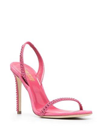 Paris Texas Sach 115mm crystal-embellished Sandals - Farfetch