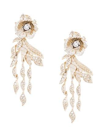 Marchesa, Rose Drop Earrings